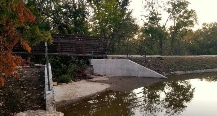 Pond Lake spillway
